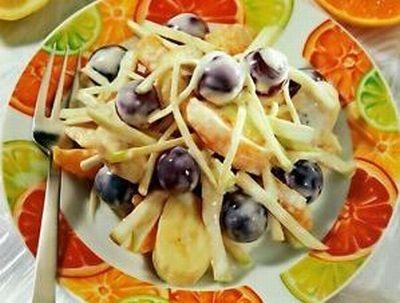 Рецепт Банановый салат по-бразильски
