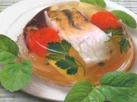 Рецепт Заливная рыба - щука