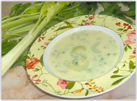 Рецепт супа из сельдерея