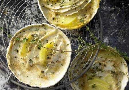 Рецепт Запеканка из сельдерея и картофеля с соевым кремом