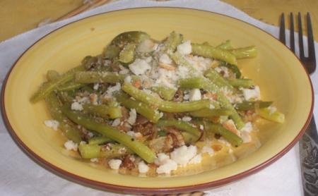 Рецепт Теплый салат со спаржей и сухариками