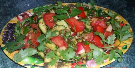 Рецепт Салат «Букет витаминов»