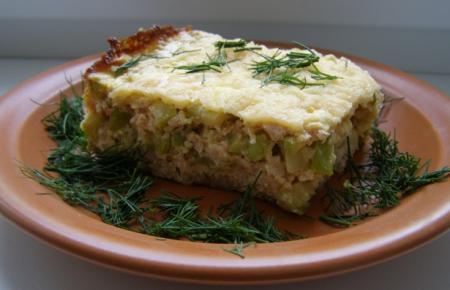 Рецепт Пирог из кабачков с мясом
