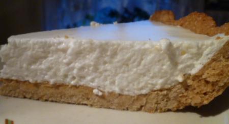 Рецепт Песочный пирог с суфле «Неженка»