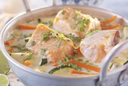 Рецепт Азиатское рыбное рагу