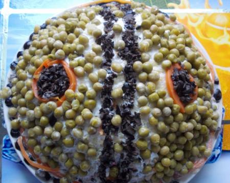 Рецепт Салат мясной «Савинский»