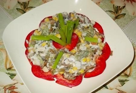 Рецепт Салат «Республика ламинария»