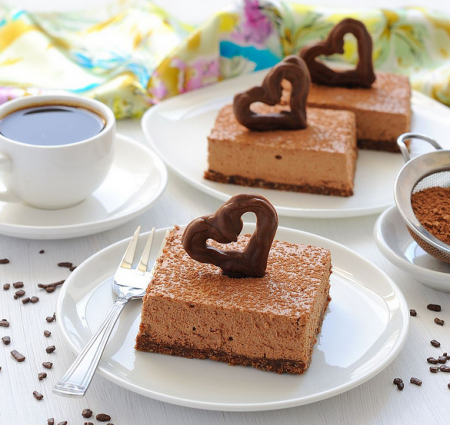 Рецепт Шоколадно творожные пирожные