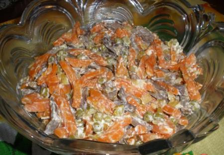 Рецепт Сердечный салат