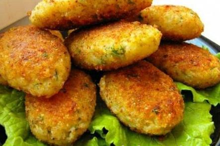 Рецепт Картофельно-грибные котлеты