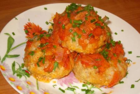 Рецепт Рыбные гречаники