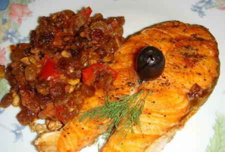 Рецепт Рыба по-египетски