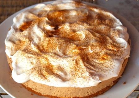 Рецепт Бисквитный торт с кофейным муссом