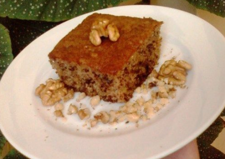 Рецепт Греческий ореховый пирог