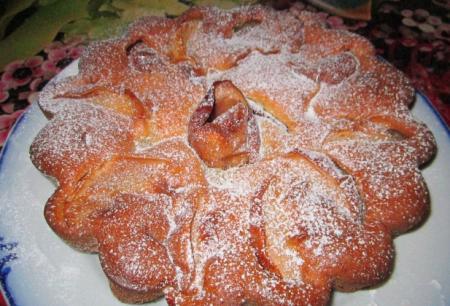 Рецепт Пирог из бананов и яблок