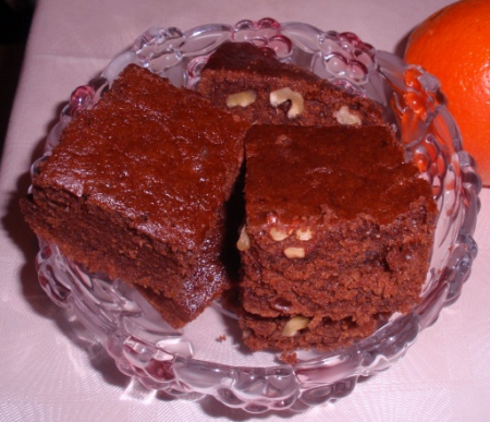 Рецепт Апельсиново-шоколадный манник