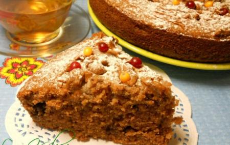 Рецепт Манник шоколадный с халвой
