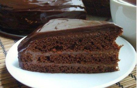 Рецепт Быстрый шоколадный торт