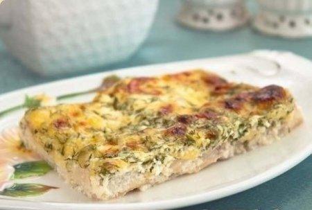 Рецепт Рыба в сырно-сливочном соусе