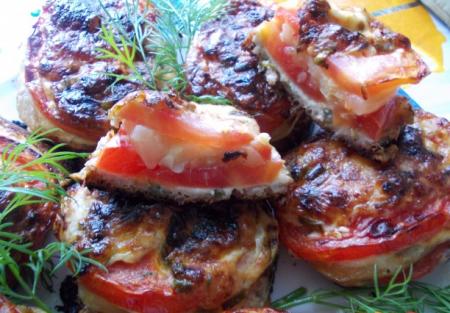 Рецепт Овощные бутерброды