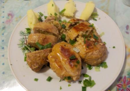 Рецепт Мини-рулеты мясные с перловкой