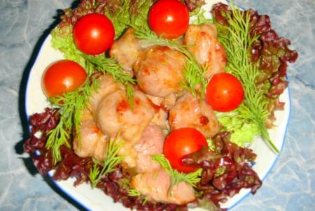 Рецепт Дзяю - жареная свинина