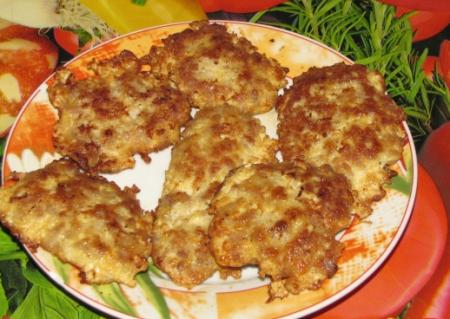 Рецепт Котлетки-бризольки