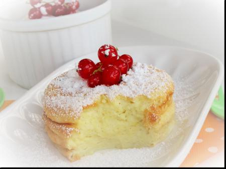 Рецепт Творожно-яблочное суфле