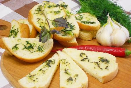 Рецепт Ароматные гренки