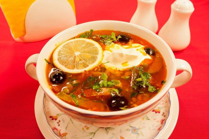 Солянка рецепт первое блюдо