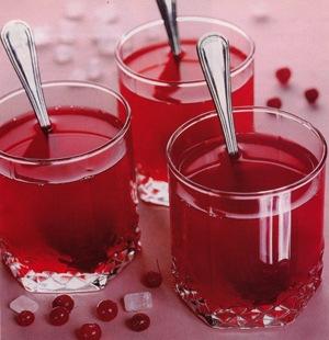 Рецепт Клюквенный кисель с сахаром
