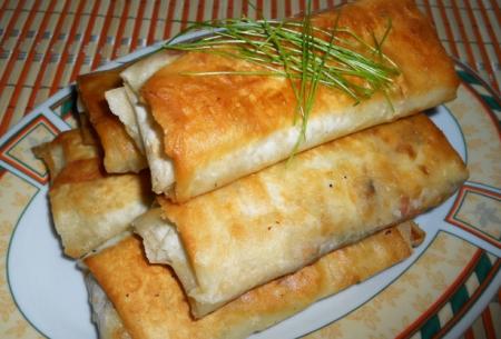 Рецепт Хрустящий лаваш с начинкой
