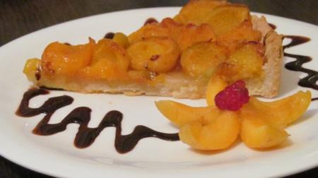 Рецепт Тарт с абрикосами