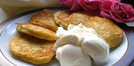 Рецепт Оладьи из кабачков с яблоком