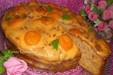 """Рецепт Бисквитный торт """"Шифон"""""""