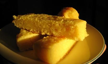 Рецепт Лимонный пирог с манкой