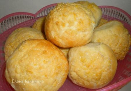 Рецепт Лимонные булочки с изюмом