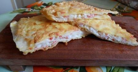 Рецепт Закусочные гренки из лаваша