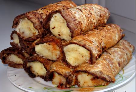 Бризоль с картошкой
