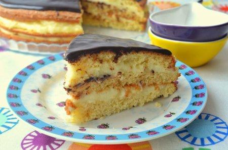 Рецепт Кремовый торт или пирог