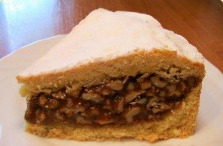 Рецепт Пирог с орехово-медовой начинкой