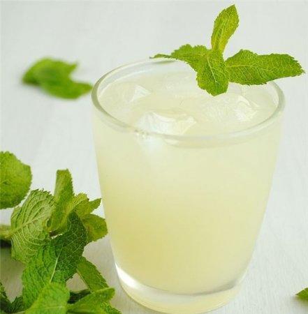 Рецепт Лимонный напиток с мятой и медом