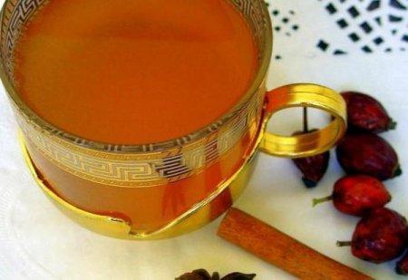 Рецепт Чай с шиповником