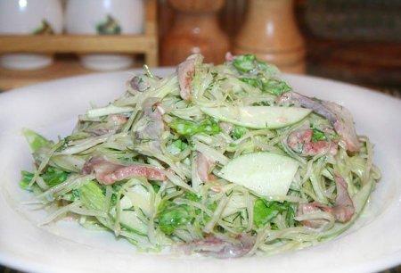 Рецепт Селедочный салат с капустой