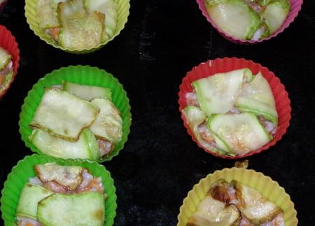 Рецепт Голубцы из кабачка, запеченные в духовке