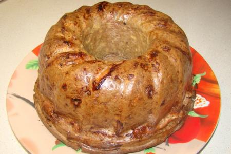 Рецепт Печеночный кекс