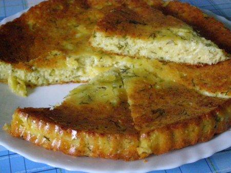 Рецепт Вкуснейший сырный пирог