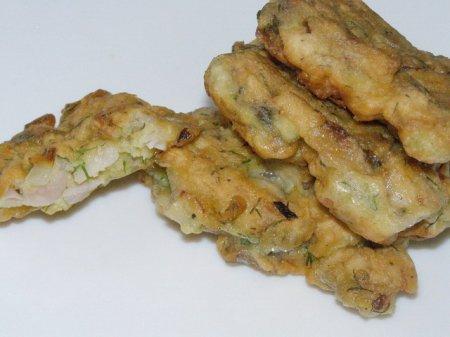 Рецепт Рыбные оладьи из карасей