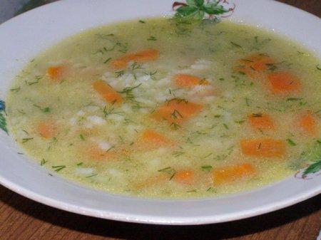 Суп сливочный из карасей