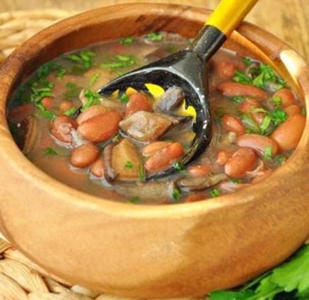 Рецепт Тосканский грибной суп с фасолью